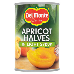Del Monte Apricot Halves in Syrup