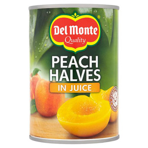 Del Monte Peach Halves In Juice