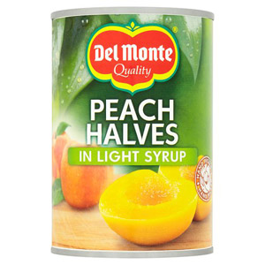 Del Monte Peach Halves In Syrup