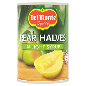 Del Monte Pear Halves in Syrup