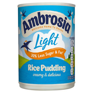 Ambrosia Low Fat Rice Pudding
