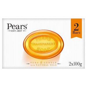 Pears Transparent Soap 2 Pack