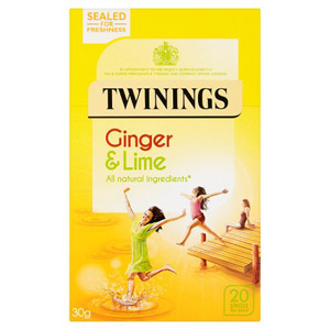 Twinings Ginger & Lime Teabags 20s