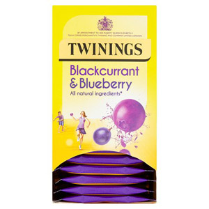 Twinings Blackcurrant & Blueberry Teabags 20s