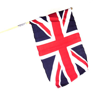 Union Jack Flag 12 x 18 in