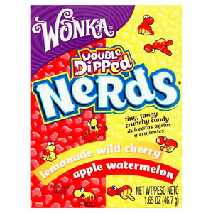Willy Wonka Nerds Apple/Watermelon & Lemonade/Cherry