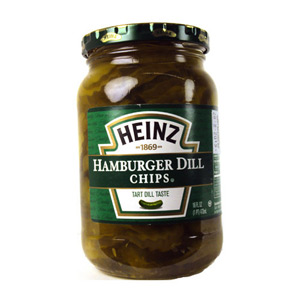 Heinz Hamburger Dill Chips