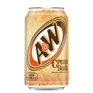 A&W Cream Soda Can 6 Pack