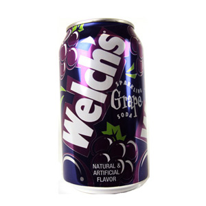 Welchs Grape Soda Can
