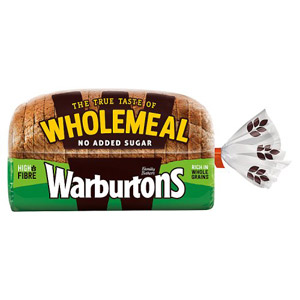 Warburtons Wholemeal Medium Bread