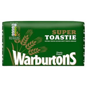 Warburtons Thickest Sliced White Bread
