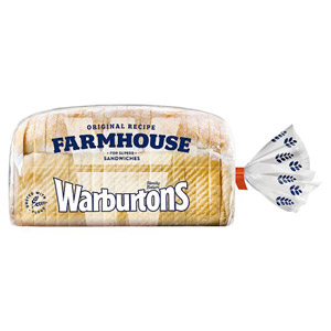 Warburtons Soft White Farmhouse Bread