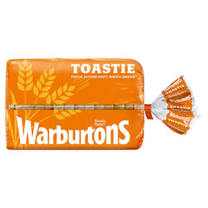 Warburtons Toastie White Bread Small