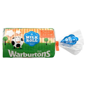 Warburtons Milk Roll White Bread