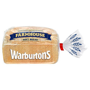 Warburtons Soft White Farmhouse Bread Small