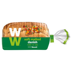 Warburtons Malted Danish Weight Watchers Bread