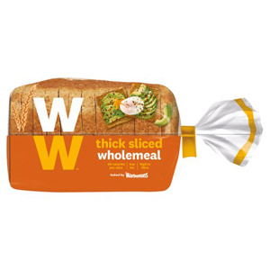 Warburtons Wholemeal Thick Weight Watchers Bread