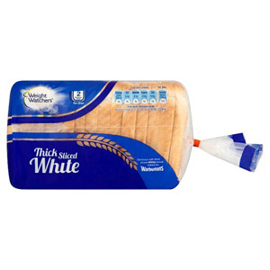Warburtons White Thick Weight Watchers Bread