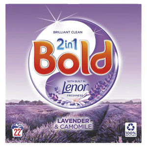 Bold 2in1 Lavender & Camomile Powder 22 Washes