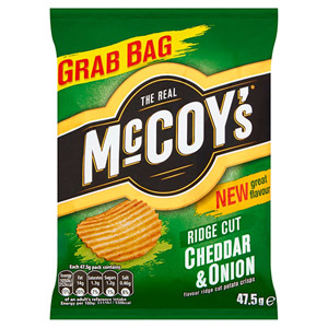McCoys Cheddar and Onion x 30