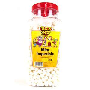 Tuck Shop Mint Imperials Jar
