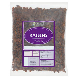 Curtis / Whitworths Raisins 2kg