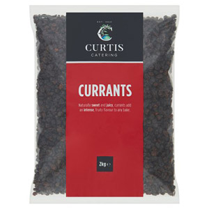Curtis / Whitworths Currants 2kg
