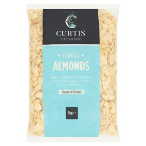 Curtis / Whitworths Flaked Almonds 1kg