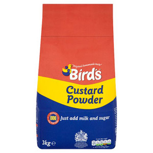 Birds Custard Powder Add Milk 3kg