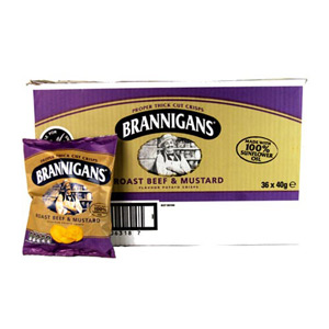 Brannigans Roast Beef and Mustard x 18