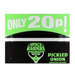 Space Raiders Pickled Onion x40