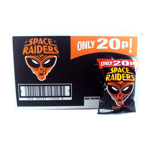 Space Raiders Spicy x 40