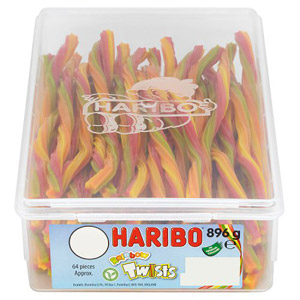 Haribo Rainbow Twist 64 Pieces
