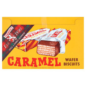 Tunnocks Chocolate Caramel Wafers 48 Pack