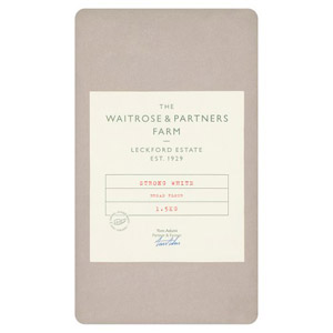 Waitrose Leckford Strong White Bread Flour