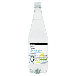 essential Waitrose Sugar Free Tonic Water with Lemon