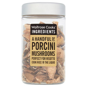 Waitrose Cooks Ingredients Porcini Mushrooms