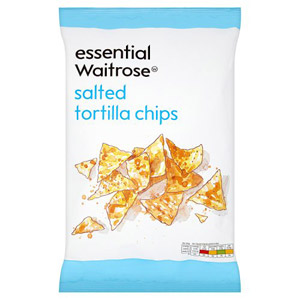 essential Waitrose Tortilla Chips Salted