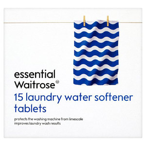 essential Waitrose Laundry Water Softener Tabs