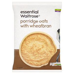 essential Waitrose Porridge Oats with Wheatbran