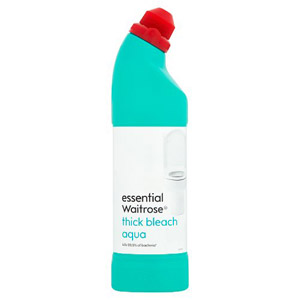 essential Waitrose Thick Bleach Aqua