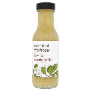 essential Waitrose Low Fat Vinaigrette Dressing