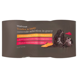 Waitrose Dog Food Casserole Selection in Gravy