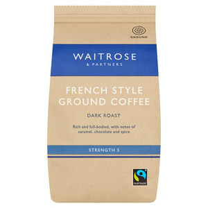 Waitrose Ground Coffee Cafetiere French