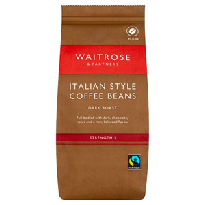 Waitrose Coffee Beans Italian