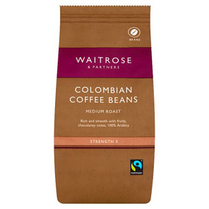 Waitrose Coffee Beans Colombian