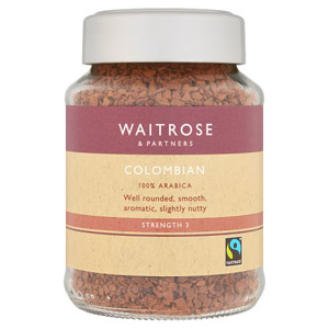 Waitrose Freeze Dried Coffee Colombian