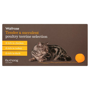 Waitrose Cat Food Terrine Poultry Selection 6 Pack