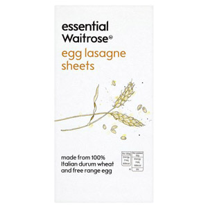 essential Waitrose Egg Lasagne