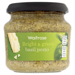 Waitrose Basil Green Pesto
